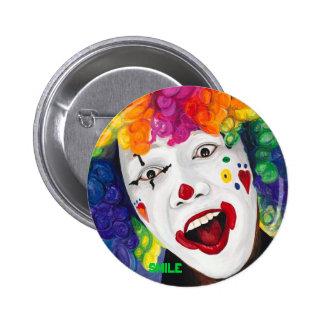 Rainbow Clown, SMILE Button