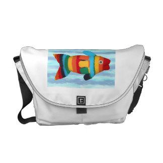 """Rainbow Clownfish"" Rickshaw Messenger Bag"