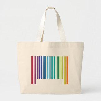 Rainbow Code Canvas Bag