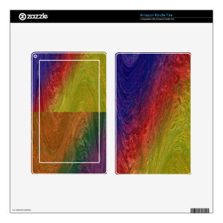 RAINBOW Collection  -  Graphic Designs Kindle Fire Skins