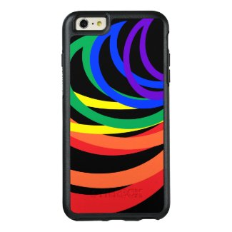Rainbow Color Abstract OtterBox iPhone 6 Plus Case