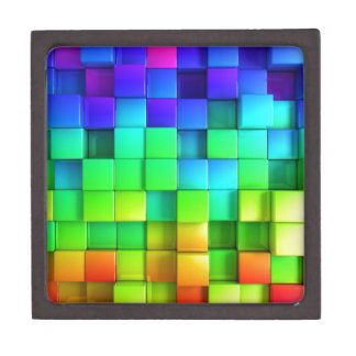Rainbow Color Boxes with amazing Cool Down Effect