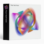 Rainbow color light - 3 ring binder
