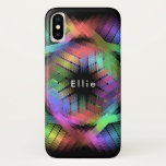 Rainbow color light iPhone XS case