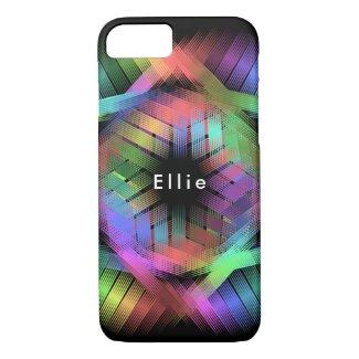 Rainbow color light iPhone 8/7 case