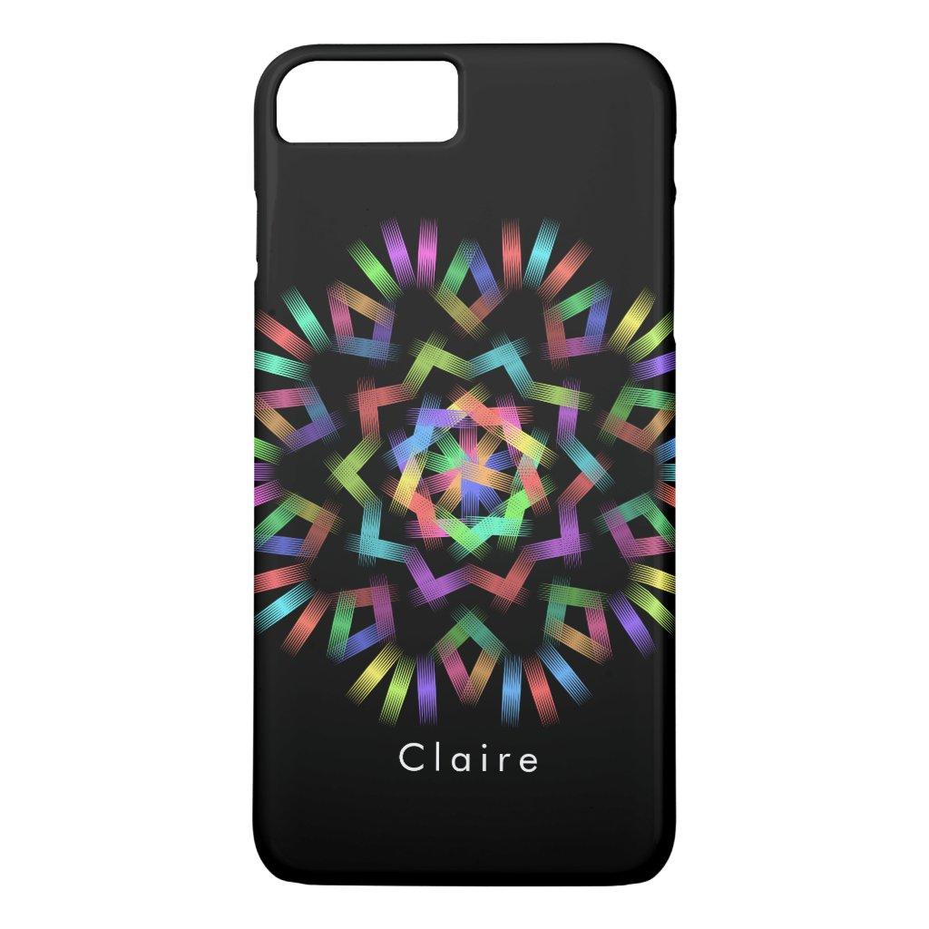 Rainbow color light iPhone 8 plus/7 plus case