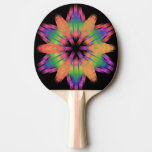 Rainbow color light - ping pong paddle