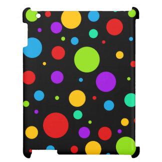 Rainbow Color Polka Dots iPad Mini Cases