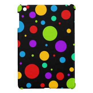 Rainbow Color Polka Dots Cover For The iPad Mini