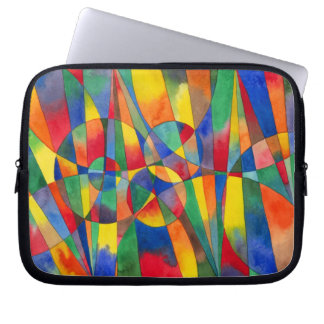 Rainbow Color Shards Laptop Bad Laptop Sleeves