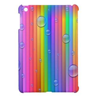 Rainbow Color Stripes iPad Mini Case