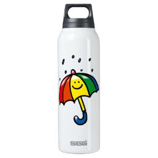 rainbow color umbrella SIGG thermo 0.5L insulated bottle