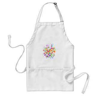 Rainbow Colored Awesome Items Aprons