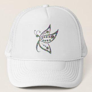 Rainbow Colored Butterfly Prismatic Art Trucker Hat