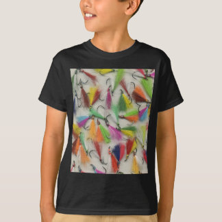 Rainbow Colored Fishing Lures T-Shirt