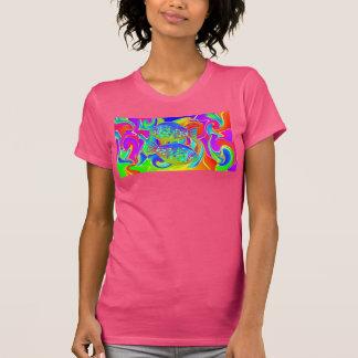 Rainbow Colored Halibut Tshirts