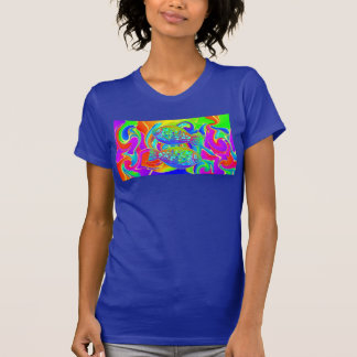 Rainbow Colored Halibut Shirt