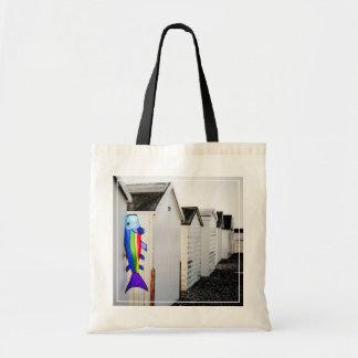 Rainbow Colored Kite Tote Bag