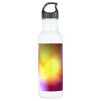 Rainbow Colored Lens Flare 24oz Water Bottle