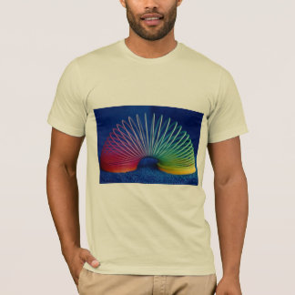 Rainbow-colored slinky toy T-Shirt
