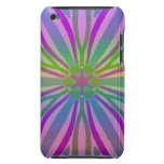 Rainbow Colorful Pastel Star Flower Abstract Art iPod Touch Case