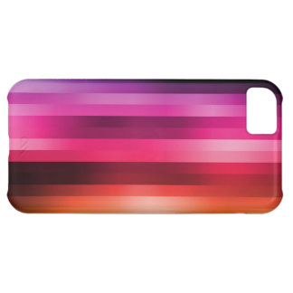 Rainbow Colorful Stripes in the Mix iPhone5C Cases