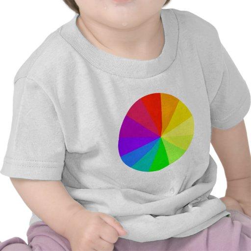 Rainbow Colors Art T-shirts