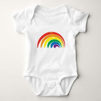 Rainbow Colors Baby Bodysuit