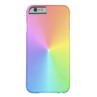 Rainbow Colors Barely There iPhone 6 Case