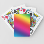 Rainbow Colors Bicycle Card Deck