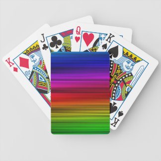 Rainbow Colors Bicycle Playing Cards