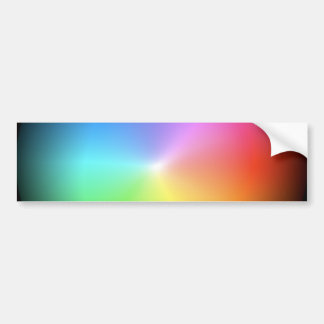 Rainbow Colors. Bumper Sticker