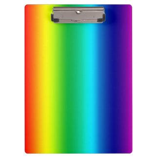 Rainbow Colors Clipboard