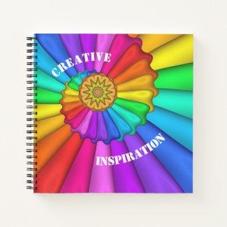 Rainbow Colors Creative Inspiration Notebook