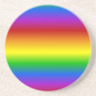 Rainbow Colors custom coaster
