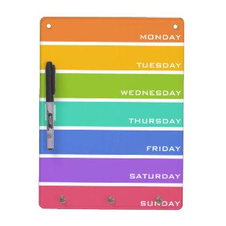 Rainbow Colors custom message board