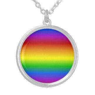 Rainbow Colors custom necklace
