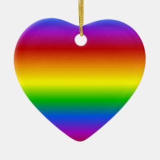 Rainbow Colors custom ornament