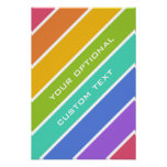 Rainbow Colors custom poster