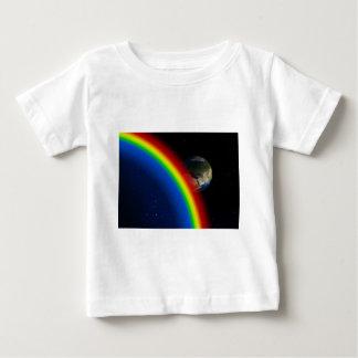 Rainbow Colors Destiny Stars Space World T-shirt