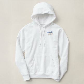 RAINBOW COLORS EMBROIDERED HOODIE