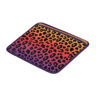 Rainbow Colors Fantasy Leopard Print Pattern MacBook Air Sleeves