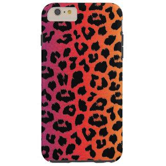 Rainbow Colors Fantasy Leopard Print Pattern Tough iPhone 6 Plus Case
