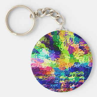 Rainbow Colors - High Energy Therapy V21 Keychain
