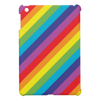 Rainbow colors iPad mini case