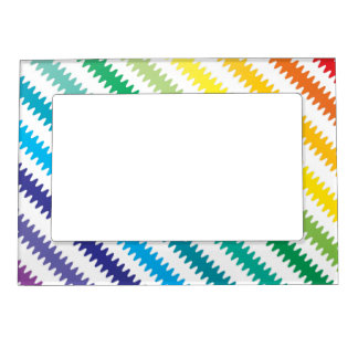 Rainbow Colors Magnetic Photo Frame