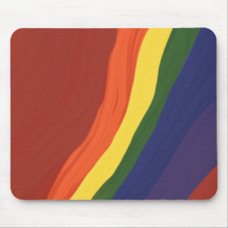 Rainbow Colors Mouse Pad