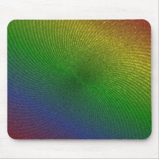 rainbow colors mousepads