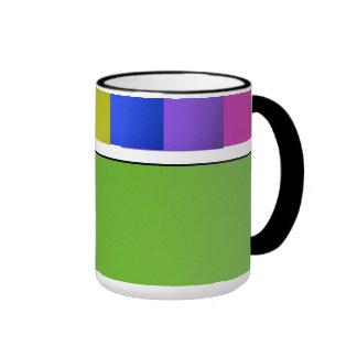 Rainbow Colors Coffee Mugs