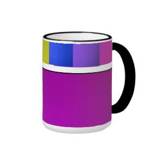 Rainbow Colors Coffee Mug